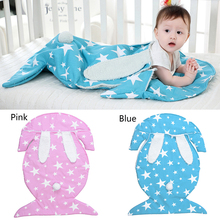 купить 2018 Baby Sleeping Bags Cotton Knitting Envelope for Newborn Warm footmuff stroller sleeping winter по цене 1427.68 рублей