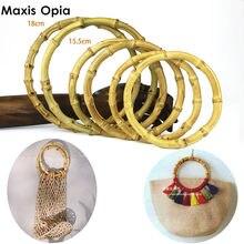 Sac à poignée en bambou, une paire, accessoire, Sac à Main naturel, avec Sangle