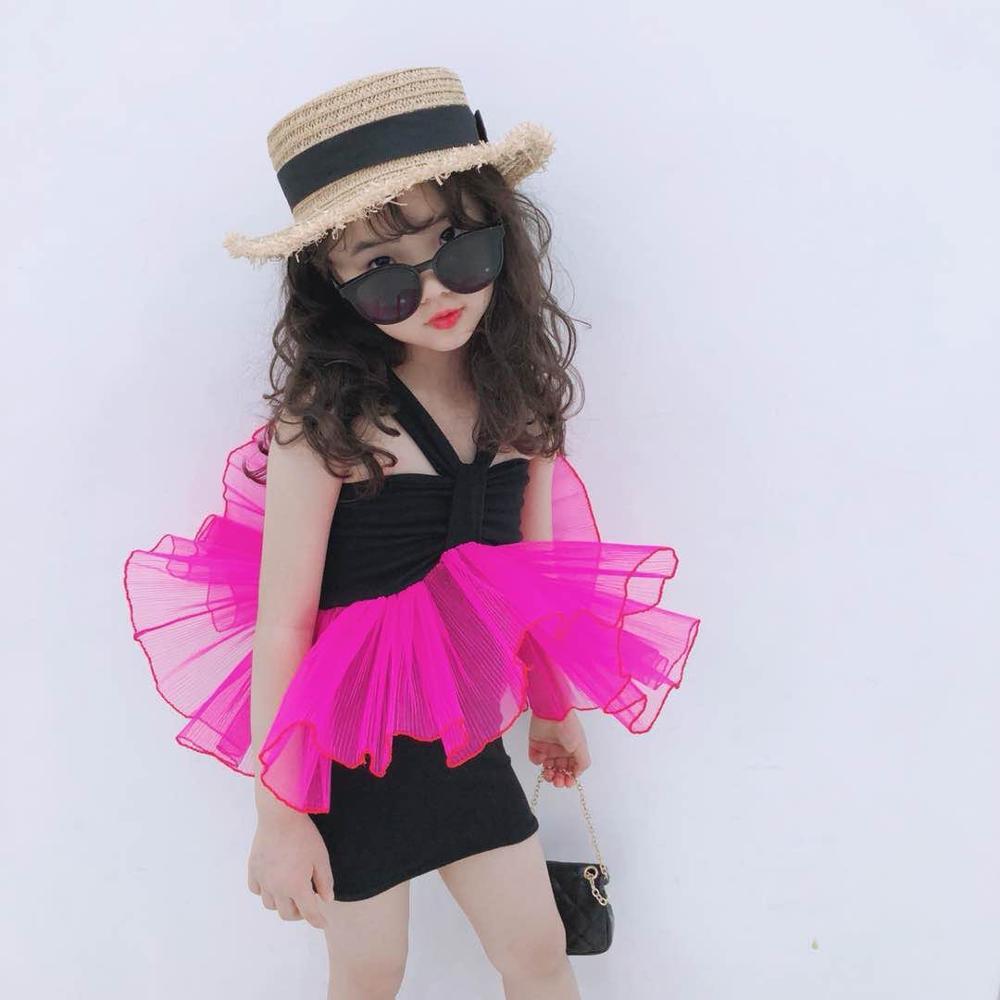 Baby Girls Mesh Tutu Princess Party Dress Cool Girl Fashion Holiday Dress 0 8kg 64