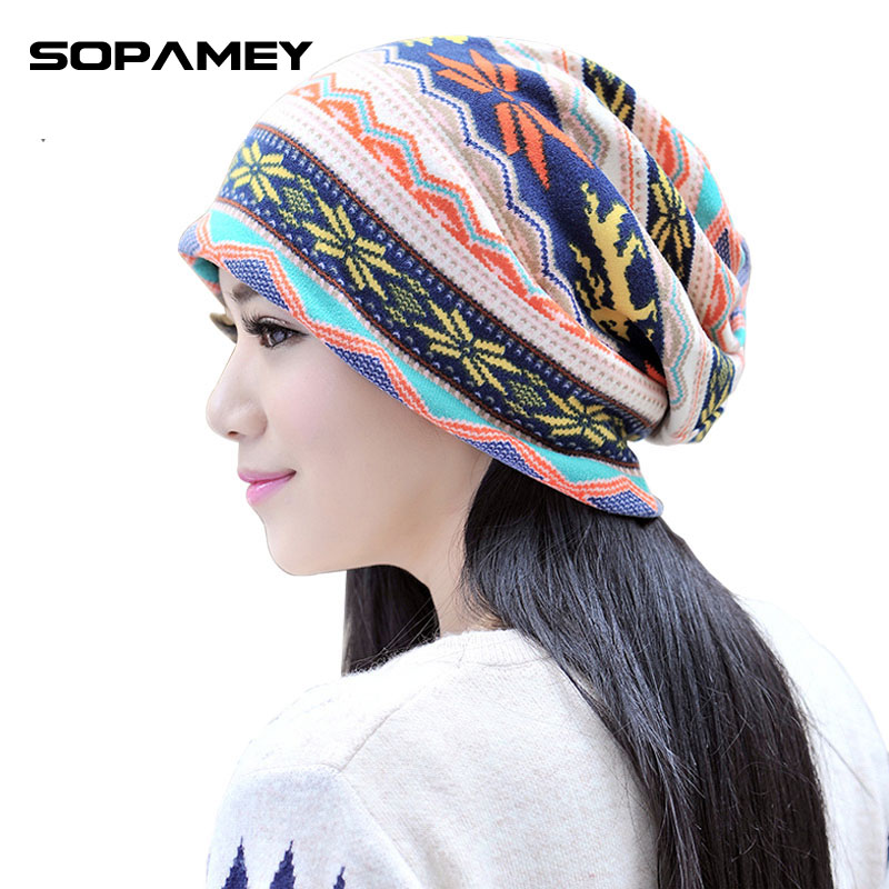 Brand Plaid Autumn Winter Warm Hat Knitting Women Men Cap Wool Solid Elastic Beanie Skullies Beanies Hedging Hats Wholesale 2017 simplee knitting wool ball skullies beanies casual streetwear warm hat cap women autumn winter 2017 cute beanie hat female