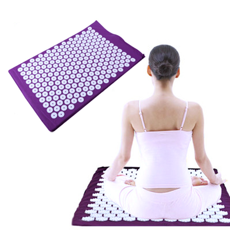 Massager Pad Mattress Pain Relieve Acupressure Cushion Mat Relieves Stress, Back, and Sciatic Pain Relif Massage For Body,Foot image