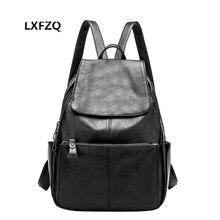 Кожаные женские рюкзаки школьный рюкзак для ноутбука для отдыха Bolsa feminina мягкой кожи рюкзаков для девочек-подростков школьная сумка