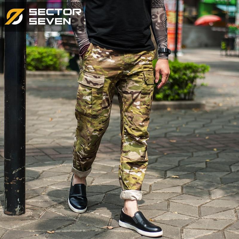 Sektor Sieben Männer Tarnung Militärische Taktische Hosen Cargo - Herrenbekleidung - Foto 5