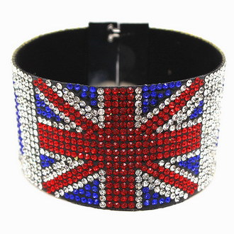 2017 Jewelry Bracelet Wrap Str Uk Flag Design For British People Magnetic Clasp Slake Turkey In Charm Bracelets From