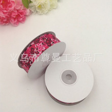 DIY Ribbon 2.5cm Wide Digital Printing Crafts Edge Hot Sublimation Line Webbing Small Flower Series Gift Box Packaging