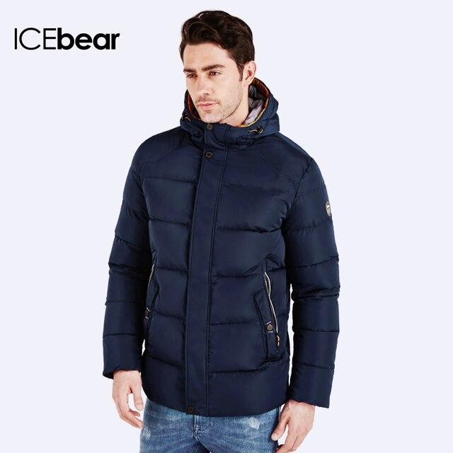 ICEbear 2016 Новое Поступление Водонепроницаемый Ветрозащитный Дышащий Теплая Куртка Спорт Пальто Зимние Мужчин Повседневная Одежда Верхняя Одежда 16MD622