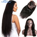Indian Virgin Hair Straight Wigs For Black women Lace Front Human Hair Wigs Full Lace Human Hair Wigs DHL Fedex Free Shipping
