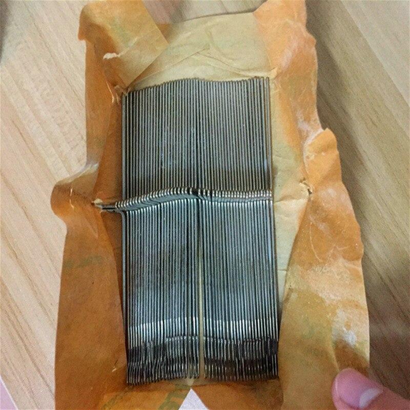 50Pcs Steel Knitting Machine Needles Crochet Hook For Silver Reed Knitting Machine SRP 60N Parts 12.8cm