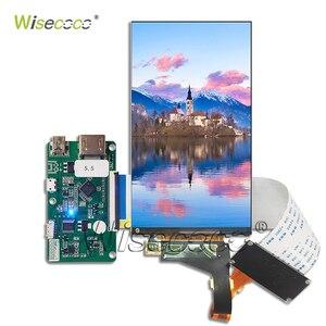 5.5 Polegada 2 k ips display lcd + novo hdmi para mipi menor placa controlador economizar espaço ls055r1sx04 para wanhao d7