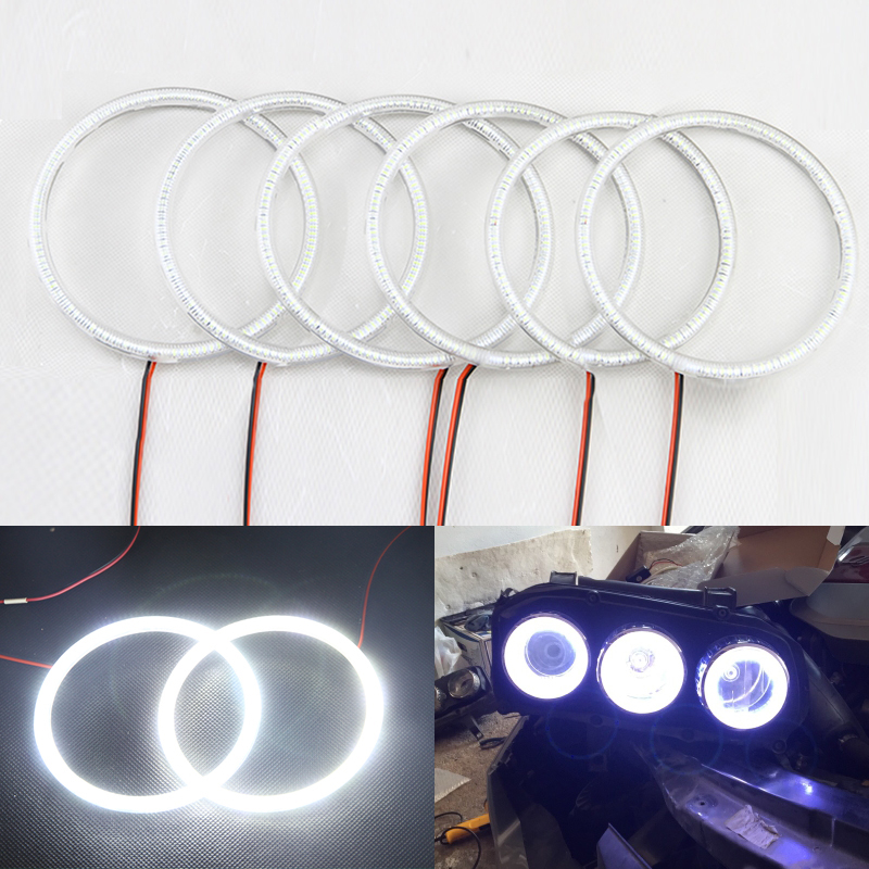 For Alfa Romeo 159 2005 2006 2007 2008 2009 2010 2011 SMD Xenon White Led Angel Eyes Halo Rings Headlights Driving Fog Lamps