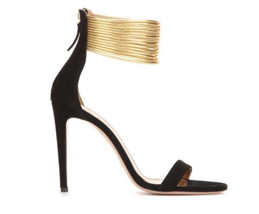 22e8caa8 Mujer-negro-blanco-gamuza -punta-abierta-moda-Sandalias-de-tac-n-alto-tal-n-fino-Zapatos.jpg