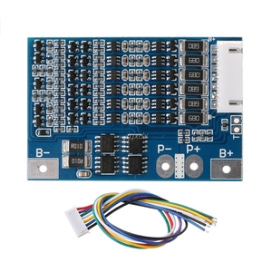Image 1 - 6S 22.2V Li ion 18650 Lithium Battery BMS Charger Protection Board with Balance Whosale&Dropship