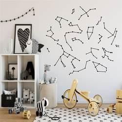 Креативные Созвездие настенные наклейки съемные наклейки художественные фрески гостиная настенные наклейки для детей комнаты