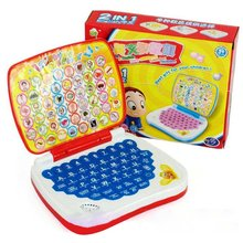 Multifunctional Bilingual Learning Machine for Kids Baby Early Educational Toy Computer Laptop Children Gift Developmental Toy chinese rings tradictional developmental toy