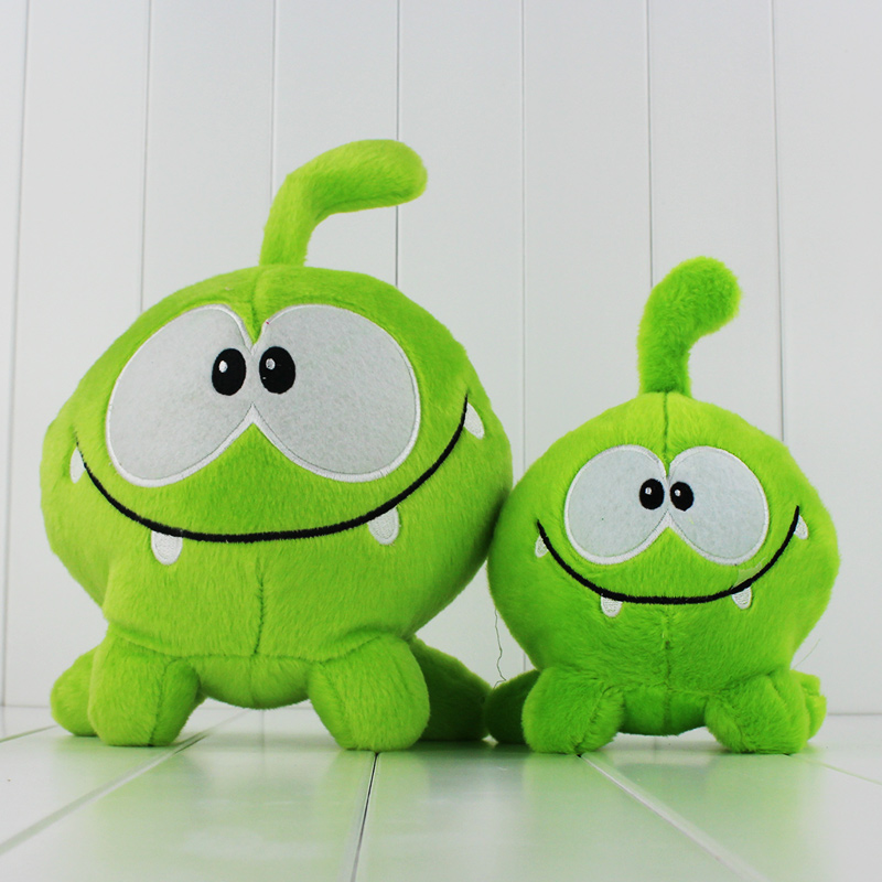 2Styles Cute Cut The Rope Game Stuffed Plush Soft Dolls Toys Great Gifts For Kids 20CM 2 ...