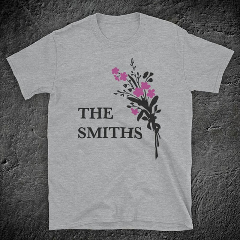 Morrissey White Name Logo Kids Youth Child Black T Shirt New Official Smiths