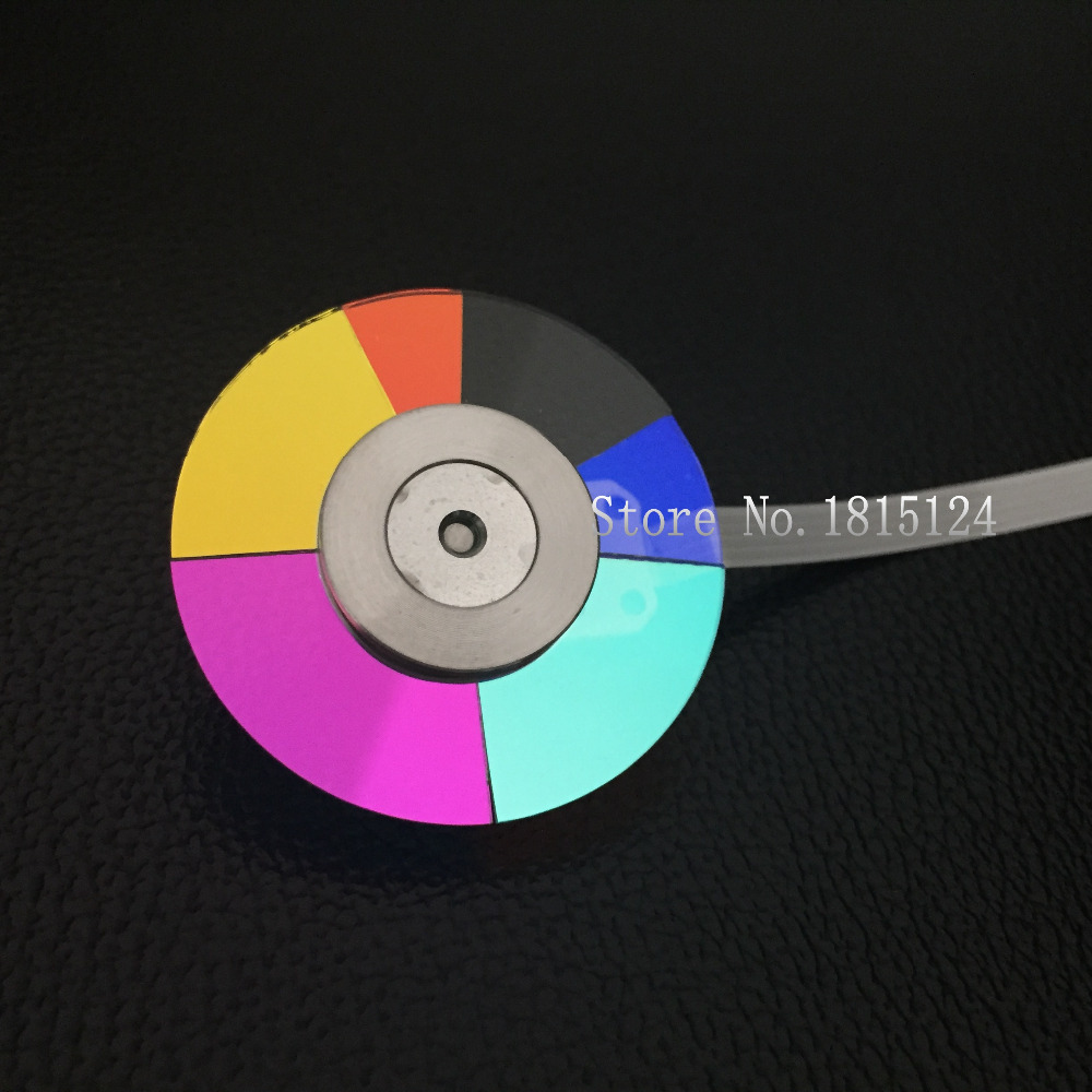 100% NEW Original Projector Color Wheel for Optoma ES529 wheel color-Agan lamps projector color wheel for optoma hd66 hd67n