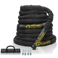 Power Guidance Battle Rope Poly Dacron Exercise Undulation Ropes Gym Muscle Toning Metabolic Workout Fitness Exercise