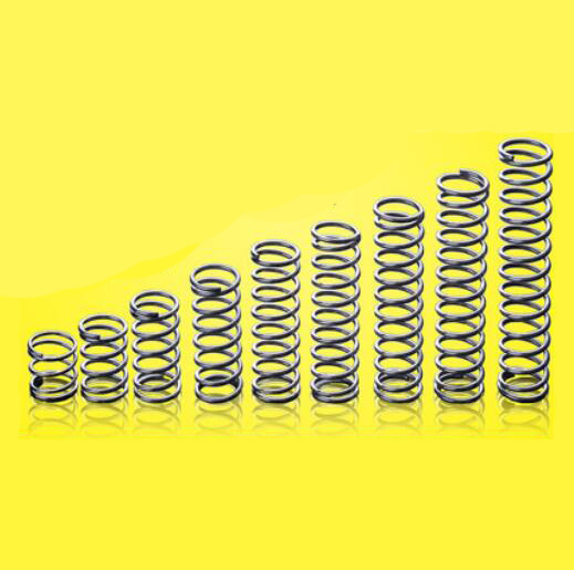 10pcs 0.2mm Wire Diameter 2.5mm OD Compression Spring Steel Pressure Springs