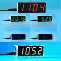 DIY relógio Digital eletrônico suíte de produção de 51 single-chip DIY relógio eletrônico suíte de produção de peças DY-020 (cores opcionais)