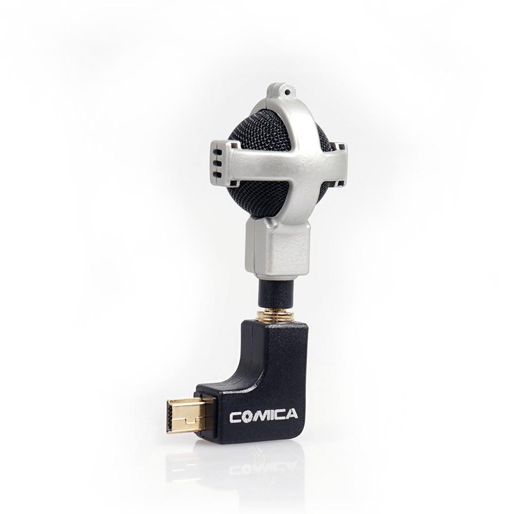 4 Camera Commlite CVM-VG05 Stereo Video Microphone Black for GoPro Hero 3 3