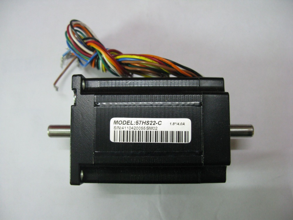 57mm NEMA23 Stepper Motor 2 phase Leadshine Stepping Motor 57HS22-C 57HS unipolar 198.24(1.4)NM 1.8 degree 3.5A original new  dhl ems 5 lots oriental original vex ta ph266 01 ph26601 2 phase stepping original a1
