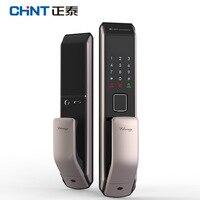 Отпечатков пальцев бытовой Anti theft Push Pull Фонд умный дом замок электронный цифровой двери пароль разведки да