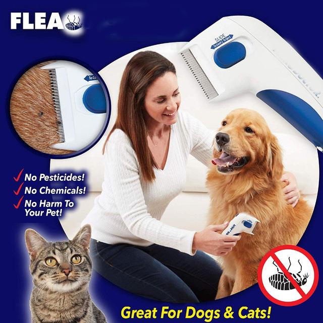 Electric Flea Comb Lice Remover