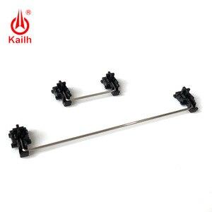 Image 2 - Kailh piastra montata stabilizzatori cassa nera per 1350 Cioccolato Interruttori Tastiere Meccaniche 2u 6.25u