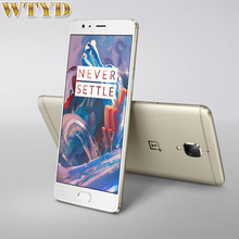 "Rom 64 gb + ram 6 gb oneplus 3 lte 4g 5.5 ""android 6.0 Snapdragon 820 Quad Core 2×2.2 GHz 2×1.6 GHz Smartphone Pantalla AMOLED NFC"