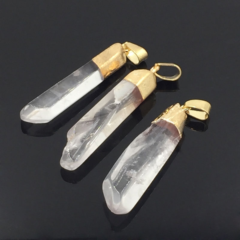 US $9 95 |5pcs Crystal Pendant Kristallschmuck Chakra Healing Crystals  Necklace Pendants Accessories For Jewelry-in Pendants from Jewelry &