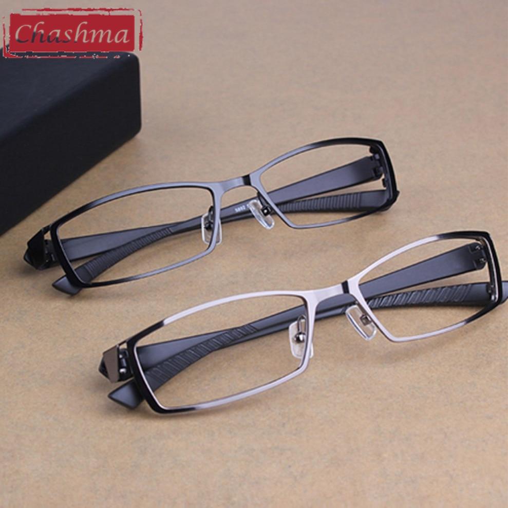 Chashma Mannen Titanium Legering Metalen Brillen Full Frame Ultra - Kledingaccessoires - Foto 2