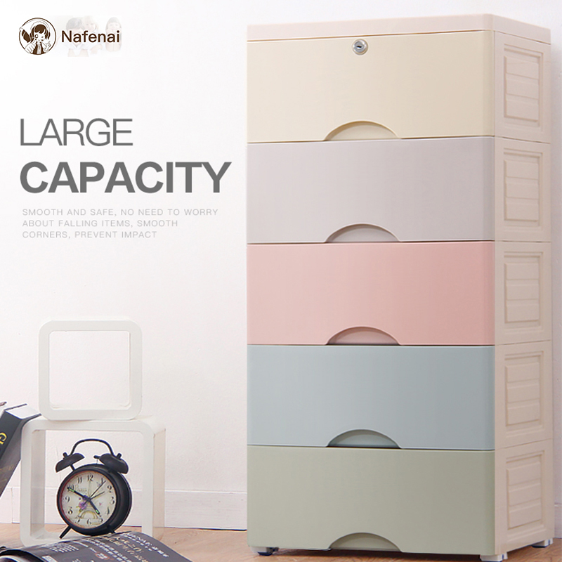 European style drawer organizer colorful clothes drawer