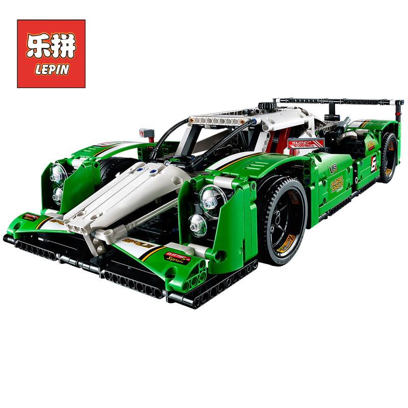 LEPIN 20003 1249pcs Technic Series New Models building toy The 24 hours F1 Race Car Building Blocks Bricks children Toy 42039 china brand 3364 educational toys for children diy building blocks 42039 technic 24 hours race car compatible with lego