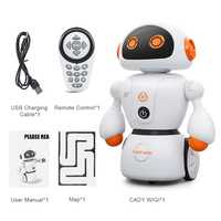2018 New JJRC R6 Intelligent Robot Remote Control Programmable Dancing USB RC Toys Model Line Following For Kids Birthday Gifts
