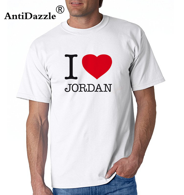 74110e4d66f1 Antidazzle I love Jordan Men s Short Sleeve T shirt Michael Jordan T-shirt  Tees