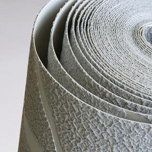 Image 5 - מודרני מינימליסטי אופנה לא ארוג טפט לחמניות 3D בולט סניף פס קיר נייר לסלון טלוויזיה ספת רקע קיר