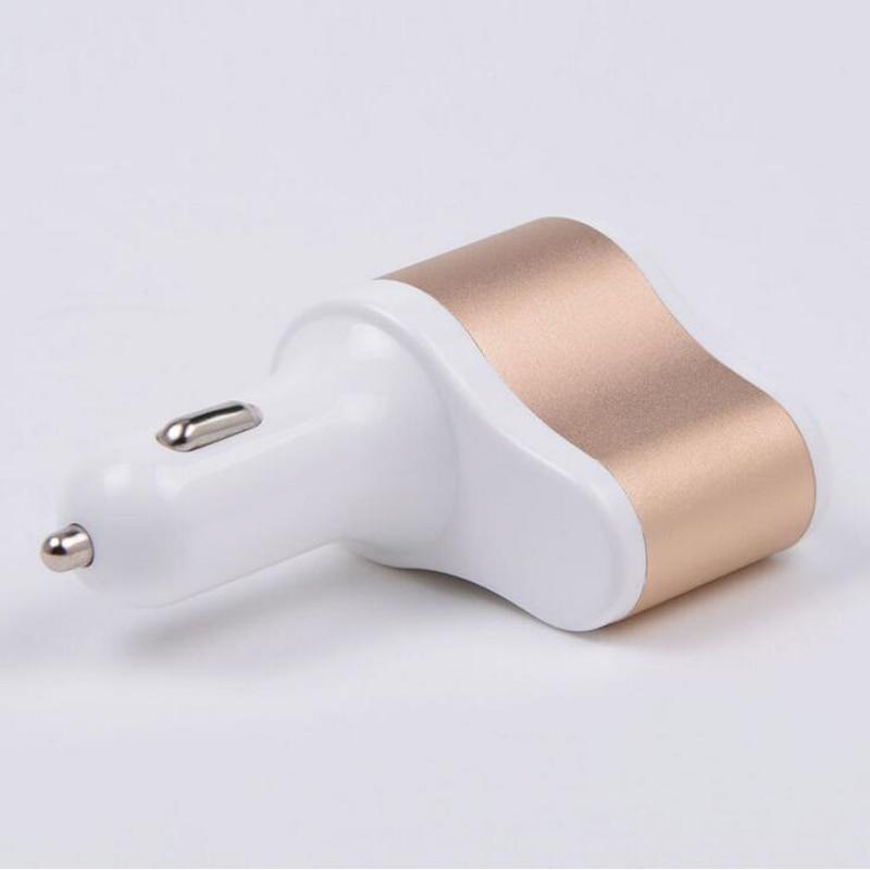 3 i 1 Billaddare Vpower Smart Shunt Dual USB Snabbladdning - Reservdelar och tillbehör för mobiltelefoner - Foto 4