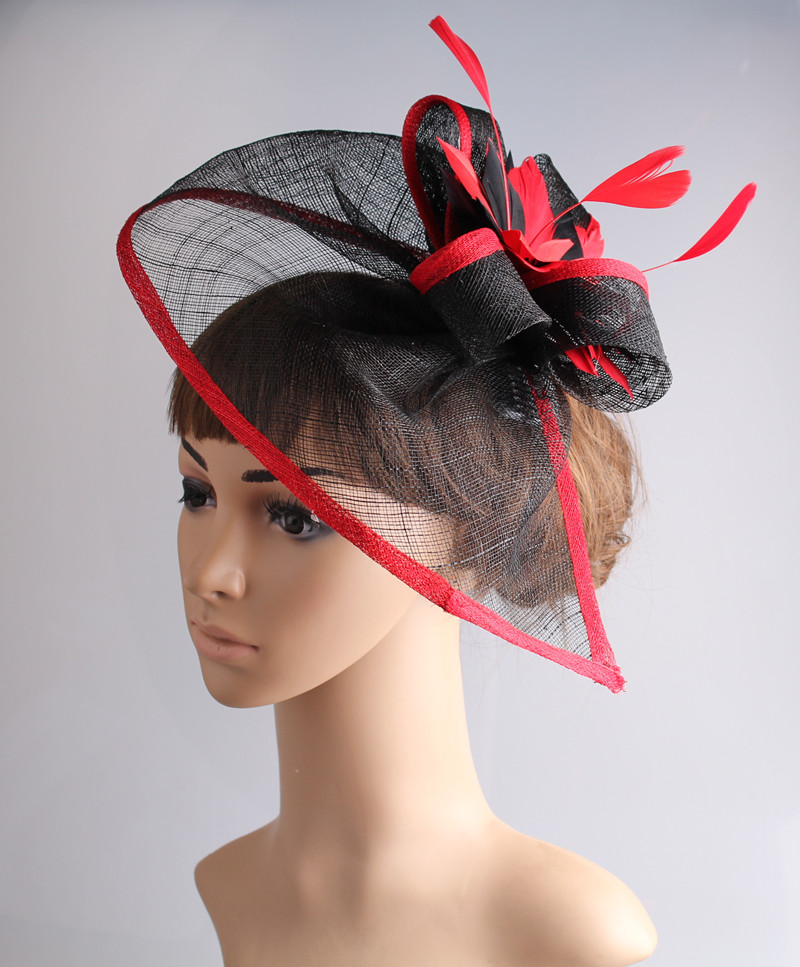 Super Love Multiple color fashion crinoline fascinator headwear colorful mesh birthday  headpiece bridal hatsuit for all season MYQ082