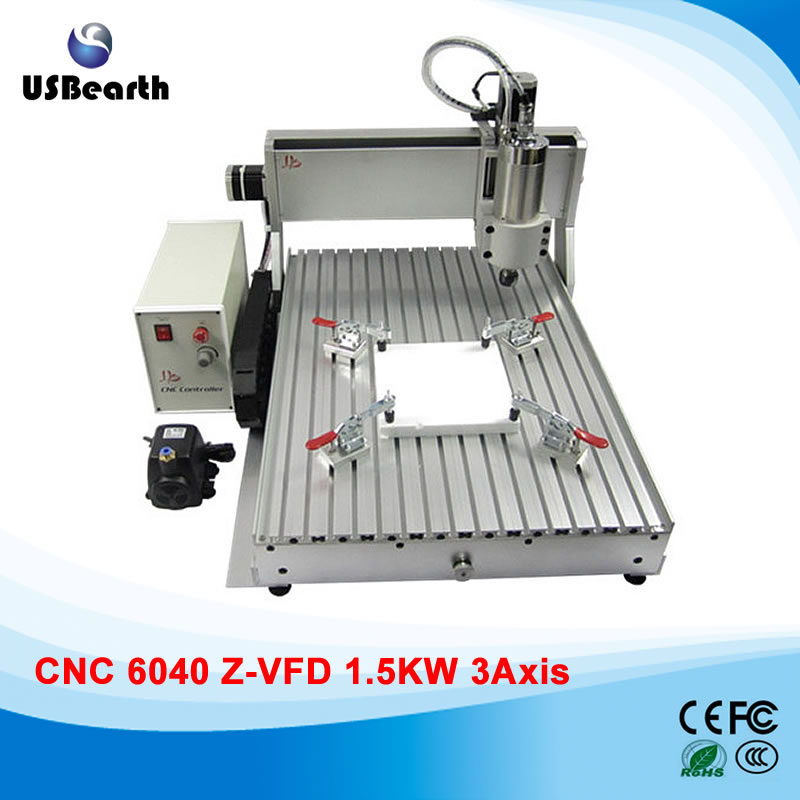 1500w cnc machinery 6040 engraver metal carving machine for metal wood acrylic pcb, no tax to Russia no tax to russia miniature precision bench drill tapping tooth machine er11 cnc machinery
