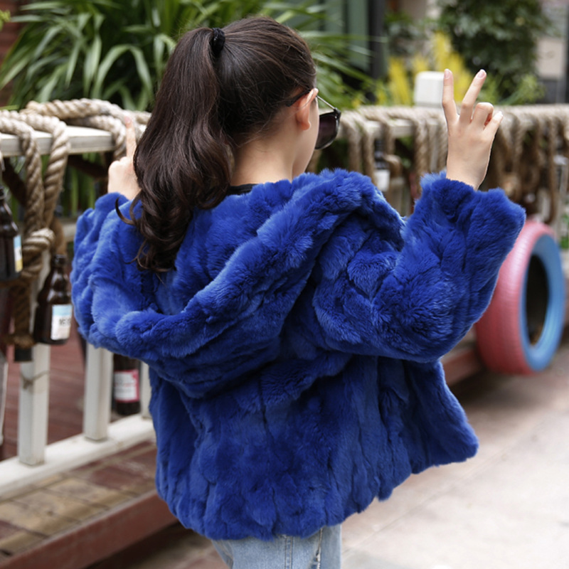 JKP winter new children's clothing jacket boys and girls Rex rabbit fur short coats thick warm children's fur Outerwear CT-39 winter kids rex rabbit fur coats children warm girls rabbit fur jackets fashion thick outerwear clothes