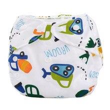 Летний для новорожденных тканевый подгузник Регулируемый многоразовый моющийся подгузник
