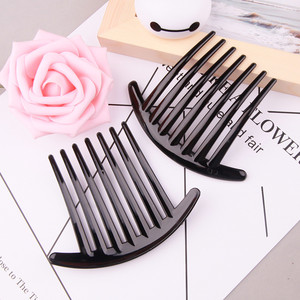 Hot Fashion Women Hair Styling Clips Lady Girls Ponytail Comb Grips Magic Hair Comb Jewelry Headwear Hair Accessories