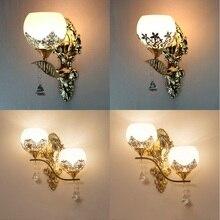 Modern Led Wall lamp European Style Gold wall light