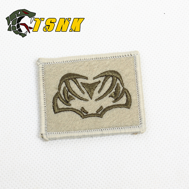"""2019 New Style Military Patch """" Tactical Snake"""" Army Military Badge Patch Armlet/badge/shoulder Patch Back"""