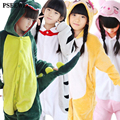 Flanela inverno pijamas das crianças unicórnio/despicable Me/Cat/porco/Spiderman/Superman/bebés Meninos meninas Animais pijama