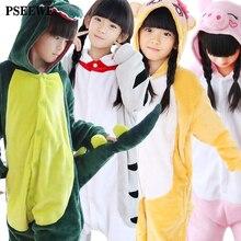 Hiver Flanelle enfants de pyjamas licorne/despicable Me/Chat/porc/Spiderman/Superman/bébé Garçons filles Animaux pyjamas