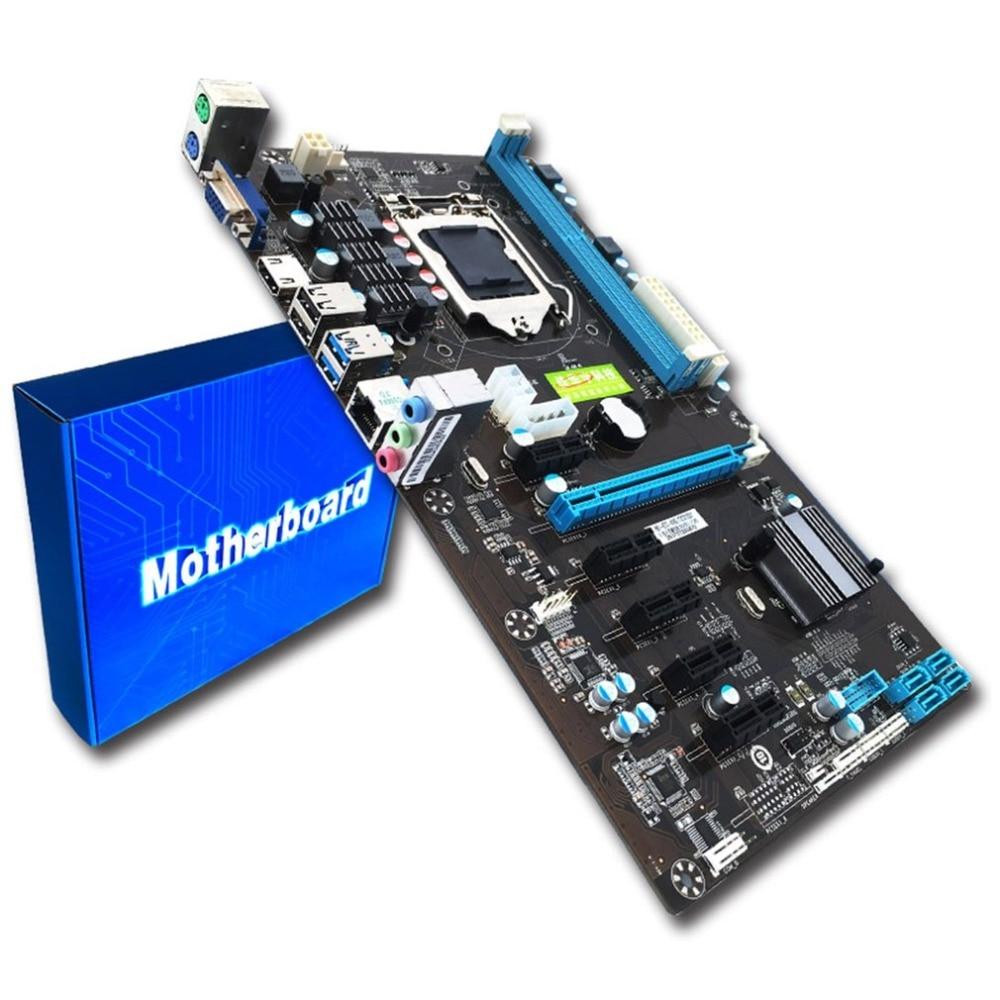 CPU Interface LGA 1150 DDR3 Board Desktop Computer Motherboard 2 Channel Mainboard High Performance Computer Accessories socket lga 775 motherboard backplate iron bracket cpu