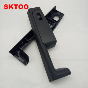 Image 4 - SKTOO For Skoda Superb door handle front left and right door armrest box inner handle frame, the lifter switch box black