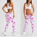 S-XL Women Leggings 3 Colors Fashion Print Mouse Natural Printing Pattern Slim Polyester Leggings Workout Leggings Women